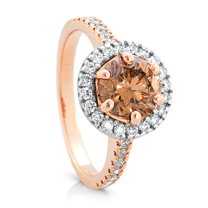 Australian Chocolate Diamonds jewellery Collection available at Nicholsons Jewellers